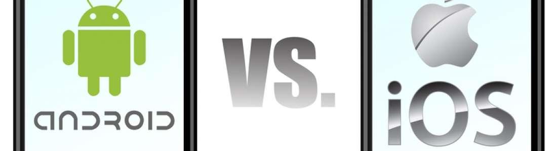Continua la guerra entre iOS y Android